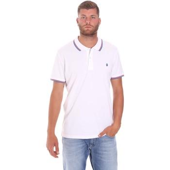 Odjeća Muškarci  Polo majice kratkih rukava Lumberjack CM45940 016EU Bijela