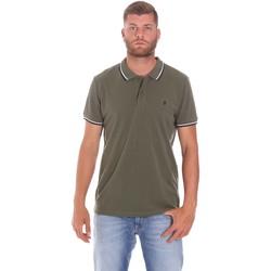 Odjeća Muškarci  Polo majice kratkih rukava Lumberjack CM45940 016EU Zelena