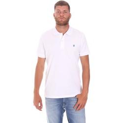Odjeća Muškarci  Polo majice kratkih rukava Lumberjack CM45940 015EU 506 Bijela
