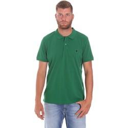 Odjeća Muškarci  Polo majice kratkih rukava Lumberjack CM45940 015EU 506 Zelena