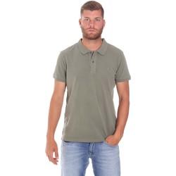 Odjeća Muškarci  Polo majice kratkih rukava Lumberjack CM45940 017EU Zelena