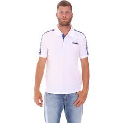 Odjeća Muškarci  Polo majice kratkih rukava Diadora 102175672 Bijela