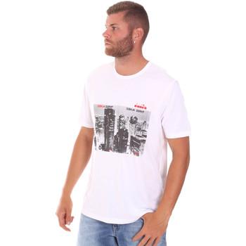 Odjeća Muškarci  Majice kratkih rukava Diadora 102175861 Bijela