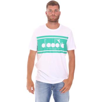 Odjeća Muškarci  Majice kratkih rukava Diadora 502176632 Bijela