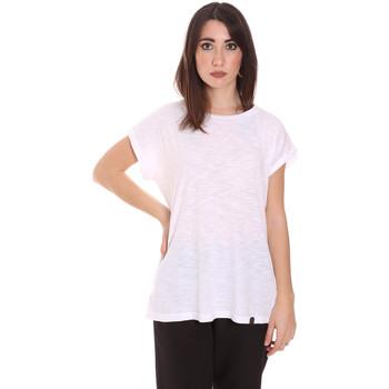 Odjeća Žene  Majice kratkih rukava Lumberjack CW60343 011EU Bijela