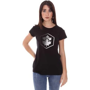 Odjeća Žene  Majice kratkih rukava Lumberjack CW60343 015EU Crno