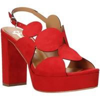 Obuća Žene  Sandale i polusandale Grace Shoes 492PL010 Crvena