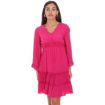 Odjeća Žene  Kratke haljine Fracomina FR21SD1047W41801 Ružičasta