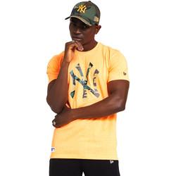 Odjeća Muškarci  Majice kratkih rukava New-Era 12369840 Naranča