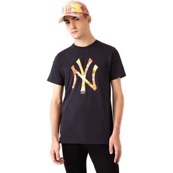 Odjeća Muškarci  Majice kratkih rukava New-Era 12720165 Crno