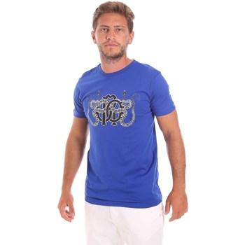 Odjeća Muškarci  Majice kratkih rukava Roberto Cavalli HST66B Plava
