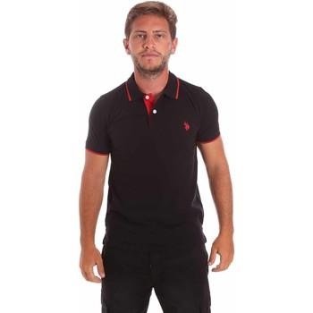 Odjeća Muškarci  Polo majice kratkih rukava U.S Polo Assn. 51139 49785 Crno
