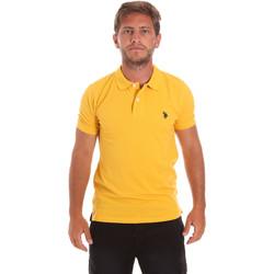 Odjeća Muškarci  Polo majice kratkih rukava U.S Polo Assn. 51007 49785 Žuta boja