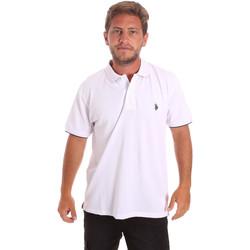 Odjeća Muškarci  Polo majice kratkih rukava U.S Polo Assn. 51140 41029 Bijela