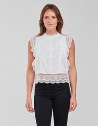 Odjeća Žene  Topovi i bluze Only ONLKARO Bijela