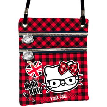 Torbe Žene  Torbe za nošenje preko tijela Hello Kitty 41563 Rojo