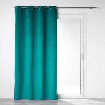 Dom Zavjese i zastori Douceur d intérieur VELOUNIGHT Smaragdno zelena