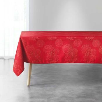 Dom Stolnjaci Douceur d intérieur ARTIFICE Red / Zlatna