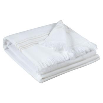 Dom Ručnici i rukavice za pranje Vivaraise CANCUN Bijela