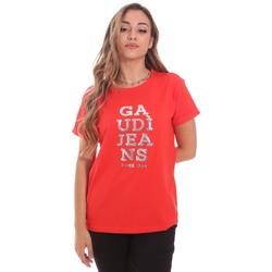 Odjeća Žene  Majice kratkih rukava Gaudi 111BD64063 Crvena