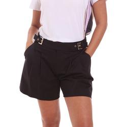 Odjeća Žene  Bermude i kratke hlače Fracomina FR21SP1006W44001 Crno