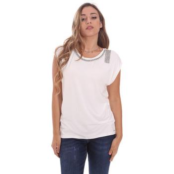 Odjeća Žene  Majice kratkih rukava Gaudi 111FD64023 Bijela