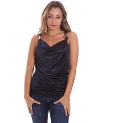 Odjeća Žene  Majice s naramenicama i majice bez rukava Gaudi 111FD44001 Plava