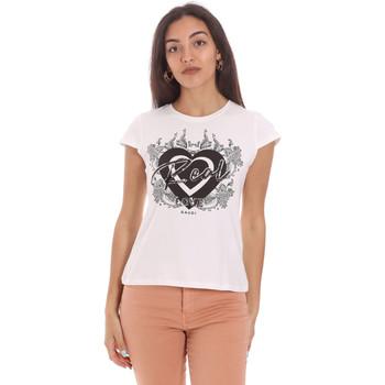 Odjeća Žene  Majice kratkih rukava Gaudi 111FD64017 Bijela