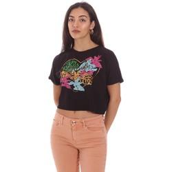 Odjeća Žene  Majice kratkih rukava Gaudi 111BD64041 Crno