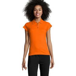 Odjeća Žene  Polo majice kratkih rukava Sols PRESCOTT POLO MUJER Naranja