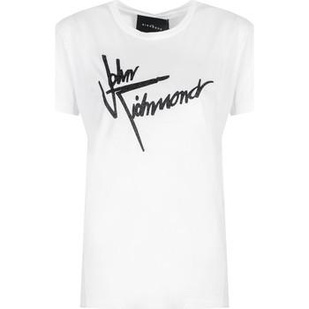 Odjeća Žene  Majice kratkih rukava John Richmond  Bijela