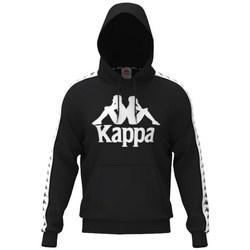 Odjeća Muškarci  Sportske majice Kappa Hurtado Hooded Crna