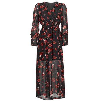 Odjeća Žene  Duge haljine Moony Mood PILAF Crna / Red