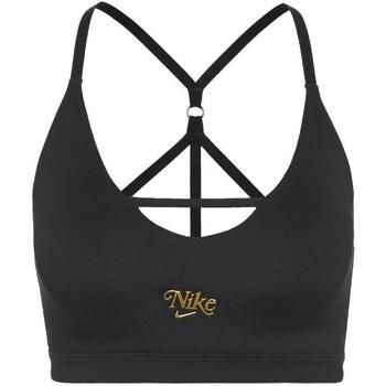Odjeća Žene  Sportski grudnjaci Nike Indy Strappy Crno