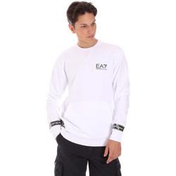 Odjeća Muškarci  Sportske majice Ea7 Emporio Armani 3KPM22 PJ05Z Bijela
