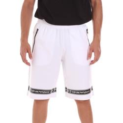 Odjeća Muškarci  Bermude i kratke hlače Ea7 Emporio Armani 3KPS56 PJ05Z Bijela
