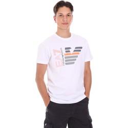 Odjeća Muškarci  Majice kratkih rukava Ea7 Emporio Armani 3KPT22 PJ6EZ Bijela
