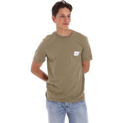 Odjeća Muškarci  Majice kratkih rukava Calvin Klein Jeans K10K107281 Zelena
