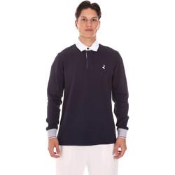 Odjeća Muškarci  Polo majice dugih rukava Navigare NV32024 Plava