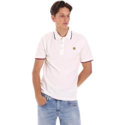 Odjeća Muškarci  Polo majice kratkih rukava Ciesse Piumini 215CPMT21423 C2510X Bijela