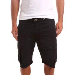 Odjeća Muškarci  Bermude i kratke hlače Sseinse PB738SS Crno