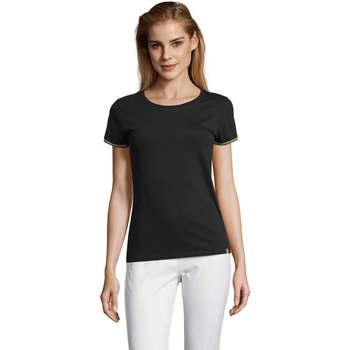 Odjeća Žene  Majice kratkih rukava Sols CAMISETA MANGA CORTA RAINBOW Negro