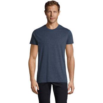 Odjeća Muškarci  Majice kratkih rukava Sols REGENT FIT CAMISETA MANGA CORTA Azul