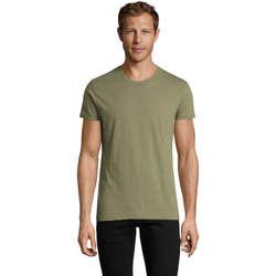 Odjeća Muškarci  Majice kratkih rukava Sols REGENT FIT CAMISETA MANGA CORTA Kaki