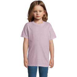 Odjeća Djeca Majice kratkih rukava Sols REGENT FIT CAMISETA MANGA CORTA Rosa