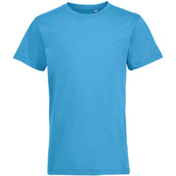 Odjeća Djeca Majice kratkih rukava Sols REGENT FIT CAMISETA MANGA CORTA Azul