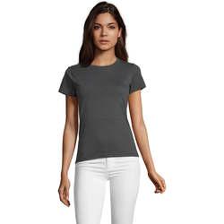Odjeća Žene  Majice kratkih rukava Sols REGENT FIT CAMISETA MANGA CORTA Gris