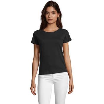 Odjeća Žene  Majice kratkih rukava Sols REGENT FIT CAMISETA MANGA CORTA Negro