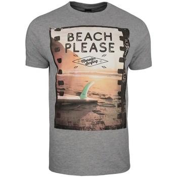 Odjeća Muškarci  Majice kratkih rukava Monotox Beach Siva