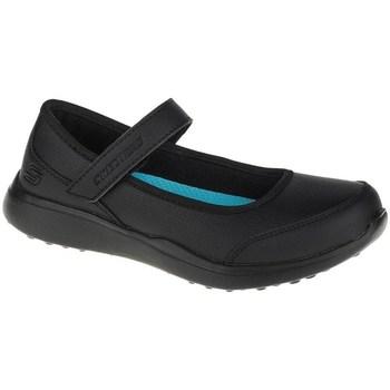 Obuća Djevojčica Balerinke i Mary Jane cipele Skechers Microstrides Class Spirit Crna